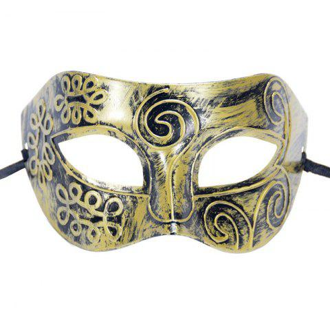 Discount Mcyh Wl147 Mask of Ancient Rome - 16*9CM COPPER COLOR Mobile