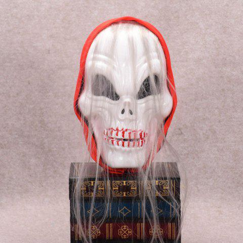 Trendy Mcyh Wl172 White Skull Light Ghost Mask - 18*28CM FLAME Mobile