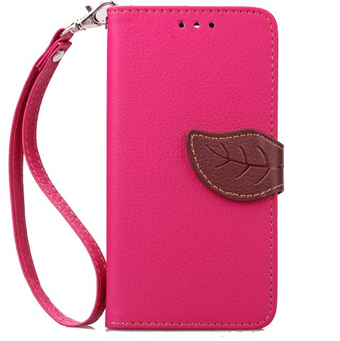 Discount Love Leaf Card Lanyard Pu Leather for Alcatel Pixi3-4.0/Ot4013k