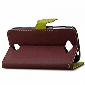 Love Leaf Card Lanyard Pu Leather for Acer Z530 -