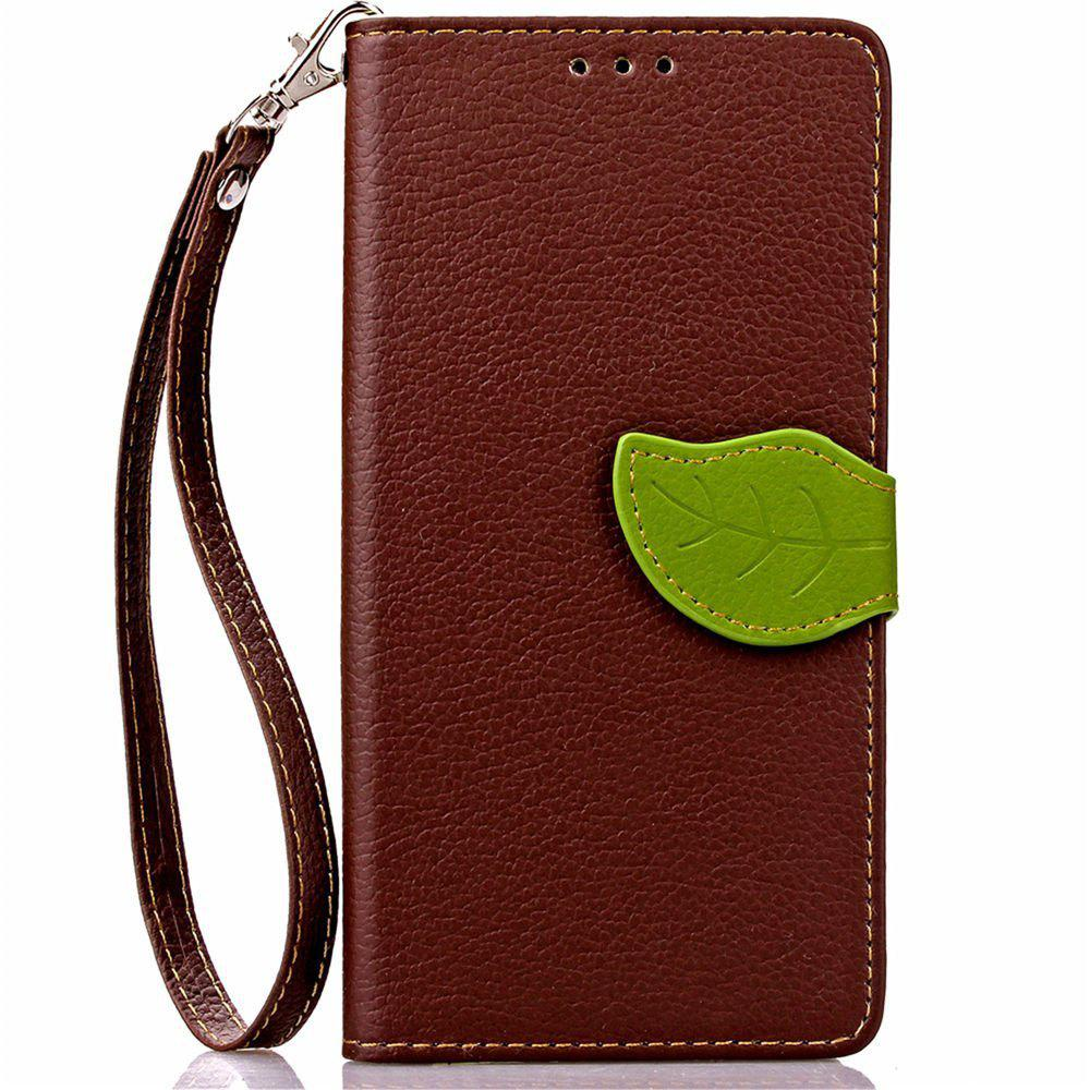 Unique Love Leaf Card Lanyard Pu Leather for Acer Z530