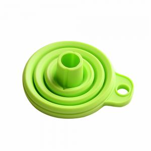 Foldable Silicone Funnel - Random Color - MIXED COLOR 1/350#