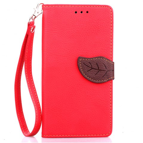 New Love Leaf Card Lanyard Pu Leather for Oneplus One