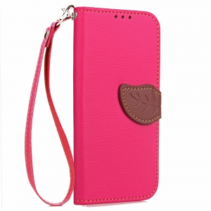 Love Leaf Card Lanyard Pu Leather for Zte A610 Plus -