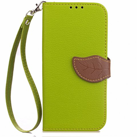 Shop Love Leaf Card Lanyard Pu Leather for Zte A610 Plus