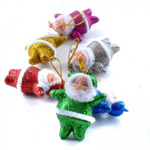 6PCS Christmas Old Man Christmas Trees Accessories - 5CM -