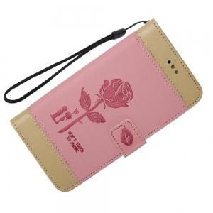 Wkae Mixed Colors Rose Flower Frosted Premium Pu Leather Wallet Stand Case Cover with Card Slots for Lg K4 -