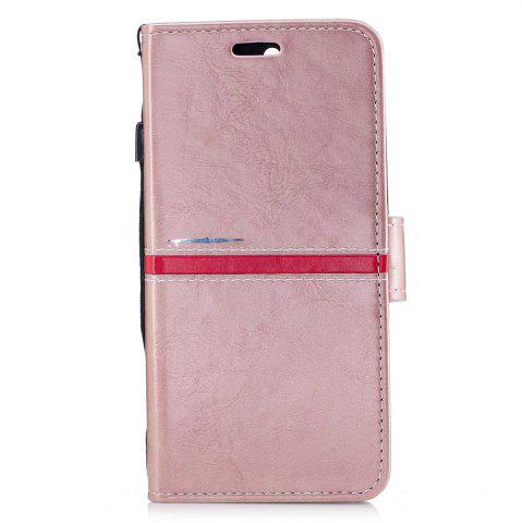 Fashion Elegant Style Back Magnetic Buckle Flip PU Leather Wallet Case for Huawei Nova 2 Plus