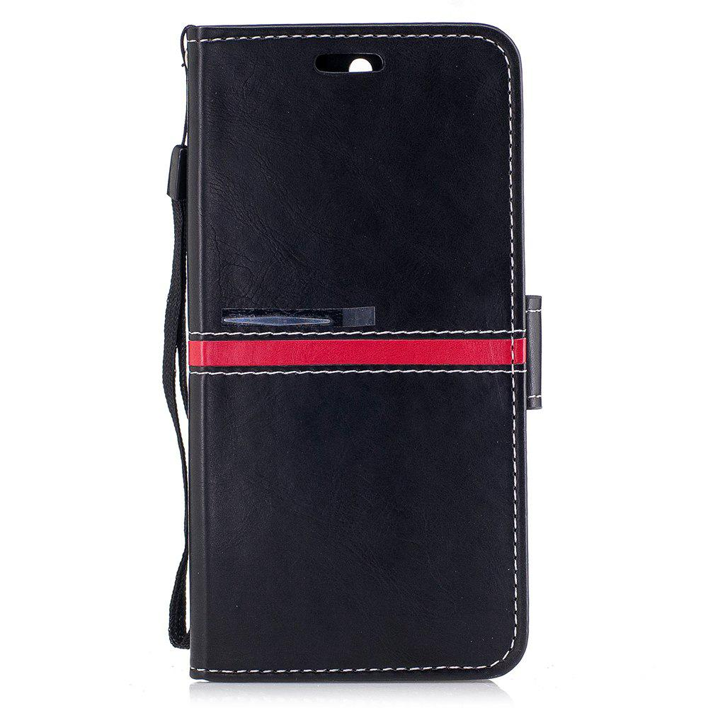 Best Elegant Style Back Magnetic Buckle Flip PU Leather Wallet Case for Huawei Nova 2 Plus