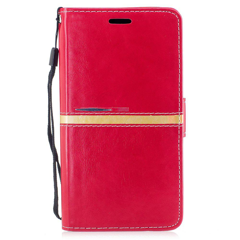 Fancy Elegant Style Back Magnetic Buckle Flip PU Leather Wallet Case for Samsung Galaxy J7 2017 (Europe and Asia Edition)