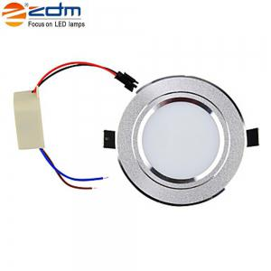 Zdm 4pcs 5W 400-450LM Dimmable Led Downlights Warm White/Cool White/Natural White Ac110v/Ac220v -