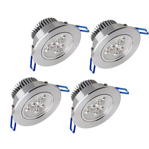 Trendy Zdm 4PCS 3X2W 400-450LM Dimmable Led Ceiling Lamps Warm White/Cool White/Natural White Ac110/220v - NATURAL WHITE LIGHT AC220V Mobile