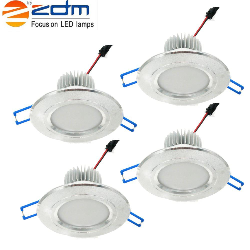 Store Zdm 4pcs 5W 400-450LM Led Low Voltage Downlights Warm White/Cool White/Natural White Ac12v/Ac24v