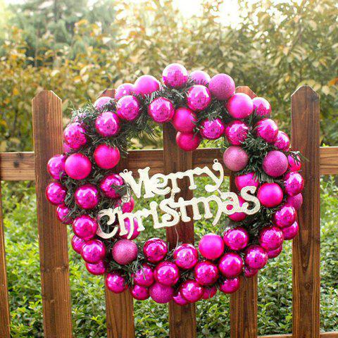 Best Mcyh Wl144 Red Flower Ring Decorated Christmas Rattan Rings Door Ornaments Pendants