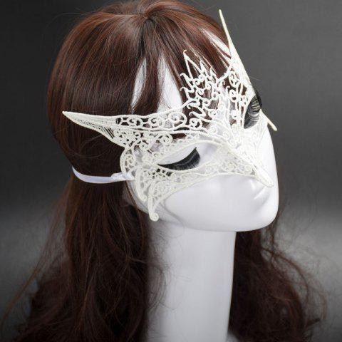 Discount Mcyh Wl150 Halloween Supplies Sexylace Fox Mask - SNOW WHITE  Mobile