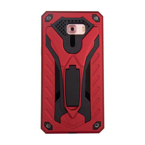 Shops Wkae Toruk Makto Pu Leather Case Cover with Kickstand for Samsung Galaxy C9 Pro