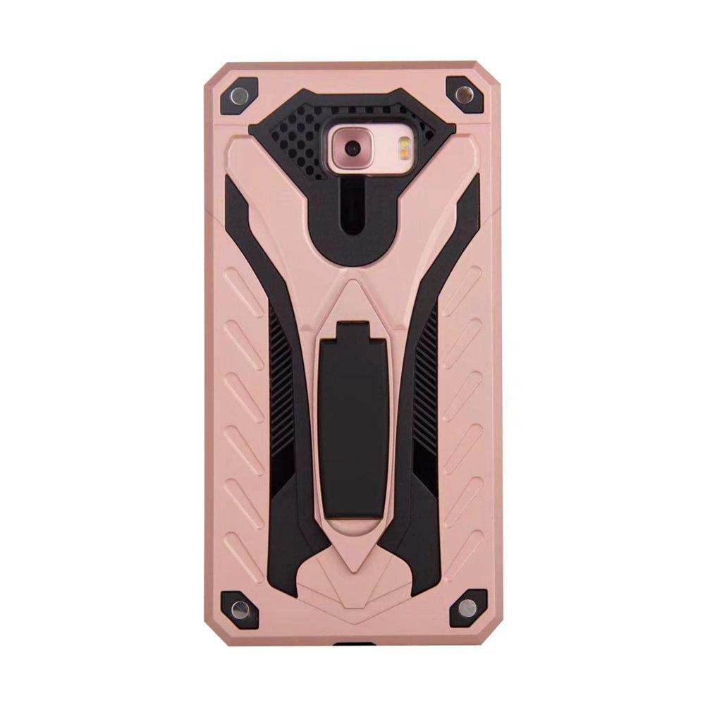 Affordable Wkae Toruk Makto Pu Leather Case Cover with Kickstand for Samsung Galaxy C9 Pro