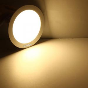 Youoklight 1PCS 5W Ac85-265v 25-SMD Cold White / Warm White Light Led Round Panel Light Lamp - WARM WHITE LIGHT