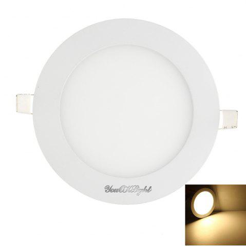 Shop Youoklight 1PCS 5W Ac85-265v 25-SMD Cold White / Warm White Light Led Round Panel Light Lamp - WARM WHITE LIGHT  Mobile