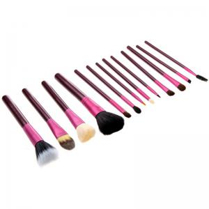 Todo 12X professional Makeup Brush with Cup Holder Case -
