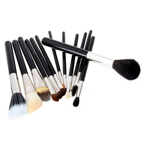 Store Todo 12X professional Makeup Brush with Cup Holder Case BLACK COLOR