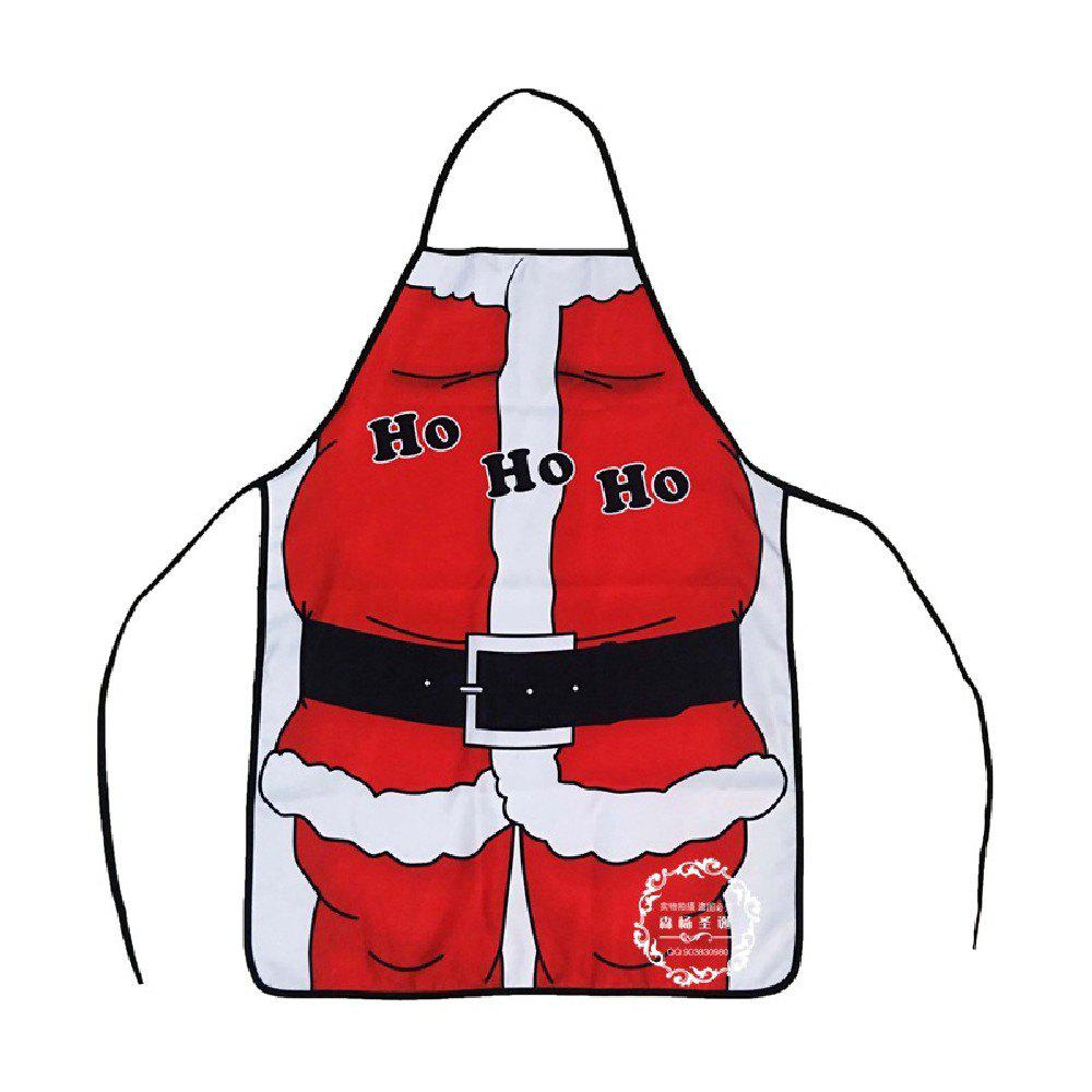 Yeduo Christmas Decoration Santa Claus Apron Whimsy Novelty GiftHOME<br><br>Color: COLORMIX;