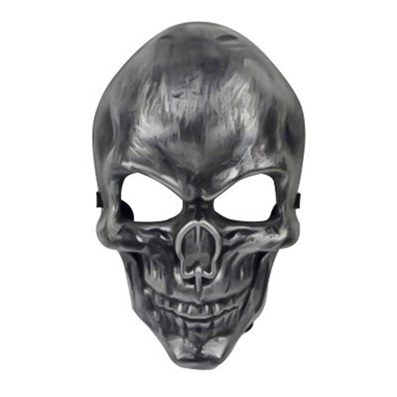 MYCH Wl164 New Skeleton MaskHOME<br><br>Color: SILVER; Product weight: 0.1000 kg; Package weight: 0.1200 kg; Product size (L x W x H): 18.00 x 14.00 x 18.00 cm / 7.09 x 5.51 x 7.09 inches; Package size (L x W x H): 23.00 x 6.00 x 6.00 cm / 9.06 x 2.36 x 2.36 inches; Package Contents: 1 x Mask;