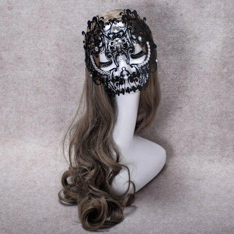 Latest MYCH Wl166 One Eyed Half Face Mask EBONY