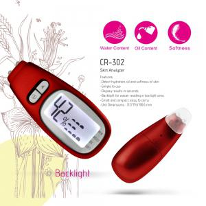 U-Trak Digital Skin Analyzer oil Content Tester for Ladies Women - FLAME