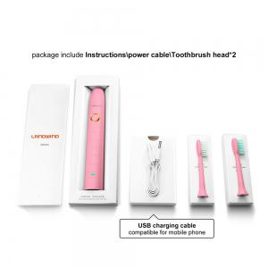 Landwind Electric Toothbrush Sonic with 5 Brushing Modes - PAPAYA
