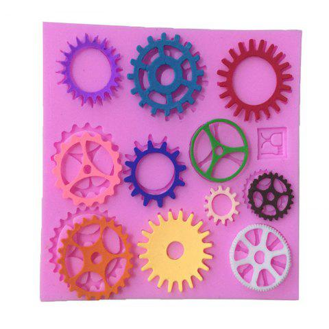 Chic Aya Gear Wheel Cake Molds for Baking