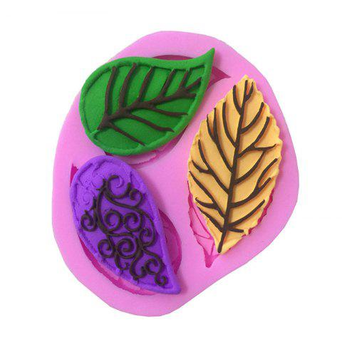 Sale Aya Floral Leaves Cake Molds for Baking PINK