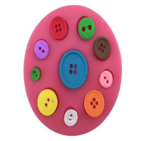 Latest Aya Button Cake Molds for Baking PINK