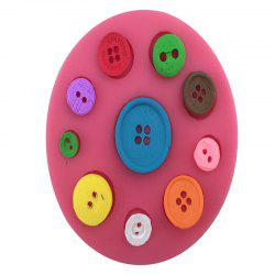 Aya Button Cake Molds for Baking - PINK