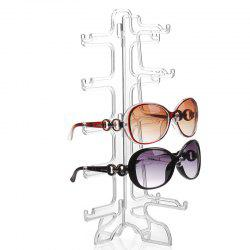5 Pair of Removable Sunglasses Glasses Display Rack -