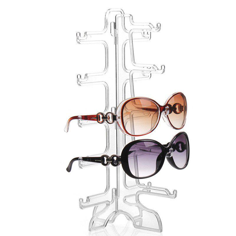 New 5 Pair of Removable Sunglasses Glasses Display Rack