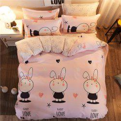 Dyy 4PCS Fashion Design Bedding Set Pillowcase Bed Sheet Quilt Cover Y2017.1.8 -