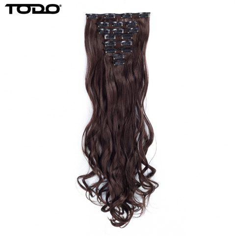 Store TODO 24inch Wig Curly Single Style 8-piece 18-clip Hair Extensions