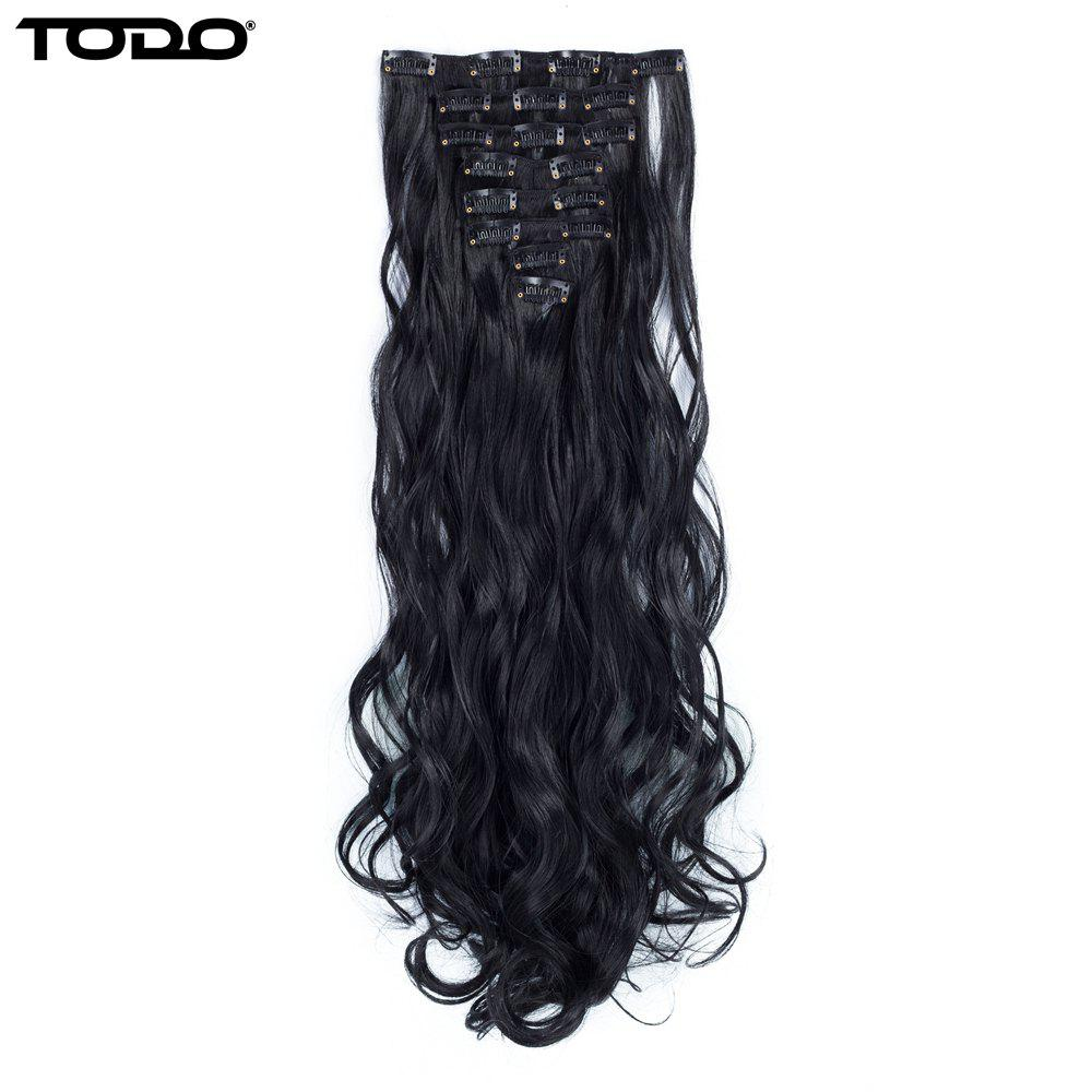 48 Off 2018 Todo 24inch Wig Curly Single Style 8 Piece 18 Clip