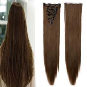 Todo Straight Wig 8-piece 18-clip Hair Extension -