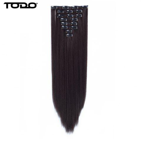 Latest Todo Straight Wig 8-piece 18-clip Hair Extension