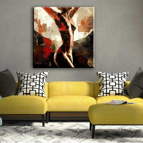 YHHP Hand Painted Abstract Art Naked Women decoration Canvas Oil Painting