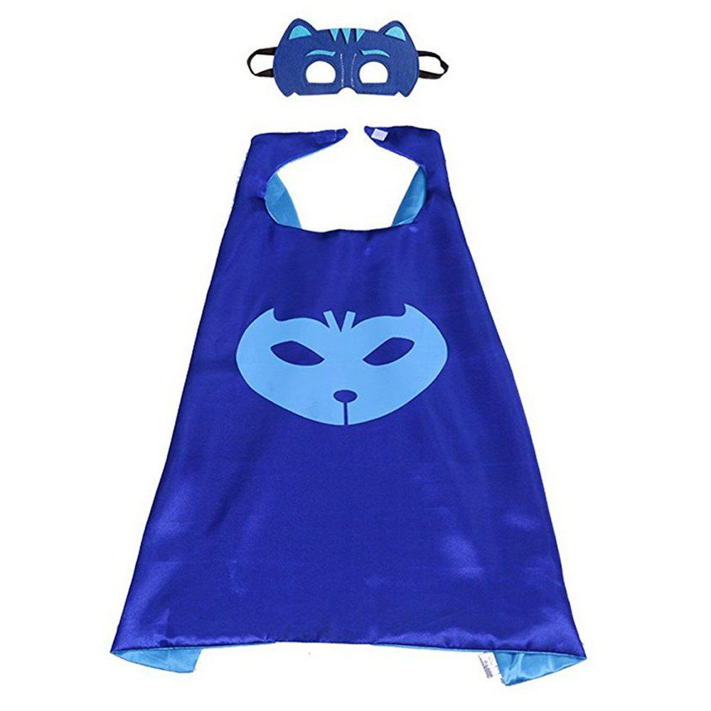 Masks Capes And Costume Sets for Kids, Dress Up Pretend Play Kids Costumes for Cosplay PartyACCESSORIES<br><br>Color: BLUE;