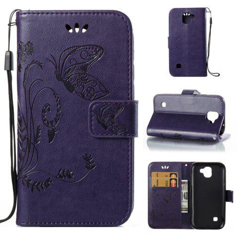 Buy Wkae Flowers Embossing Pattern Pu Leather Flip Stand Case Cover for Lg K3 2017