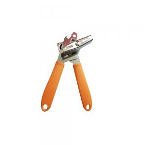 Kitchen Manual Chrome Can Bottle Opener - ORANGE