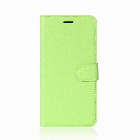 Shop Solid Color Litchi Pattern Wallet Style Front Buckle Flip PU Leather Case with Card Slots for Sony Xperia XZ1 Compact