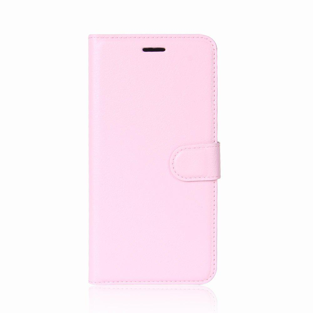 Hot Solid Color Litchi Pattern Wallet Style Front Buckle Flip PU Leather Case with Card Slots for Sony Xperia XZ1 Compact