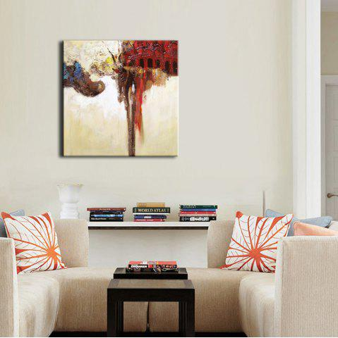 Art Hand Painted Abstract Oil Painting on Canvas One Panel