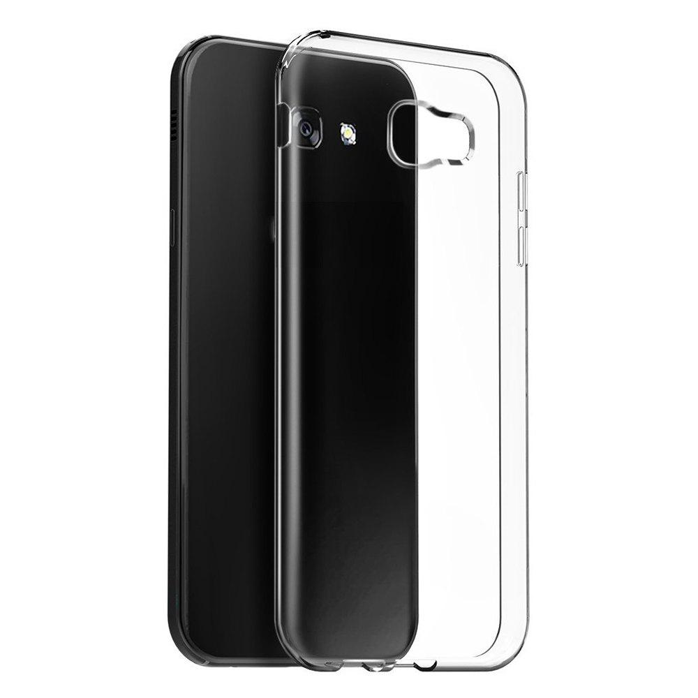 Ultrathin Shock-absorption Bumper TPU Clear Case for Samsung Galaxy A5 2017HOME<br><br>Color: TRANSPARENT;