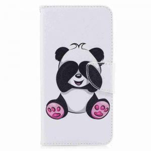 Giant Panda- Painted Pu Phone Case foriPhone 7 Plus -